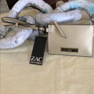 NWT Zac posen wristlet wallet